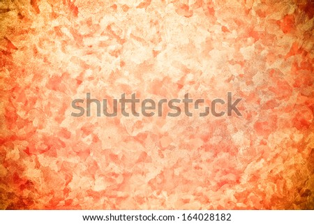 wood texture with orange marble pattern