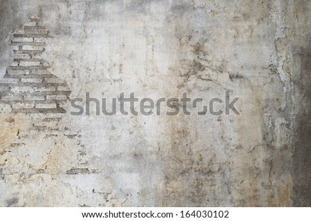 old wall with cracks background #164030102