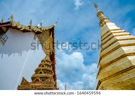 in the temple of Thailand #1640459596