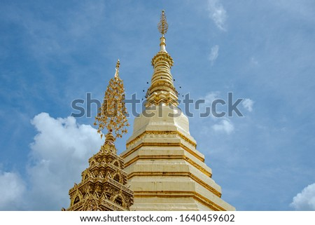 in the temple of Thailand #1640459602