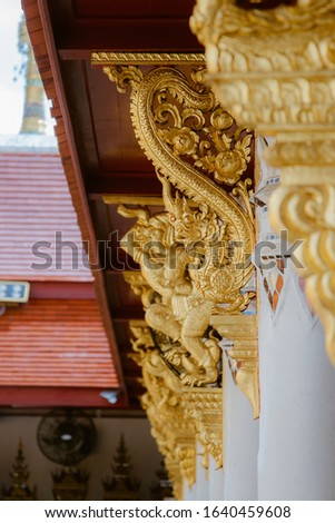 in the temple of Thailand #1640459608