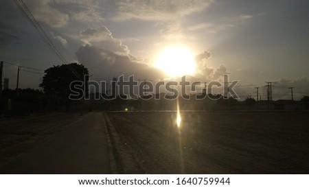 a beautiful dazzling sun in my city #1640759944
