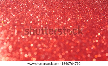 defocused abstract red christmas background with star bokeh. blurred. defocus. #1640764792