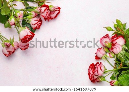 Valentines day background, Valentines day card with roses,top vi #1641697879
