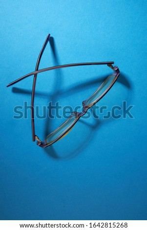 Close up of kid's spectacles  #1642815268