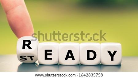 """Dice form the words """"ready"""" and """"steady"""". #1642835758"""