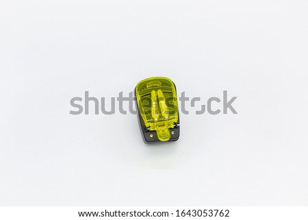 Yellow charger that can charge different electronic devices #1643053762