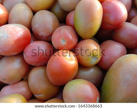 Close up of the Riped Tomatoes Collection. #1643368663