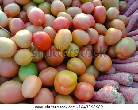 Close up of the Riped Tomatoes Collection. #1643368669