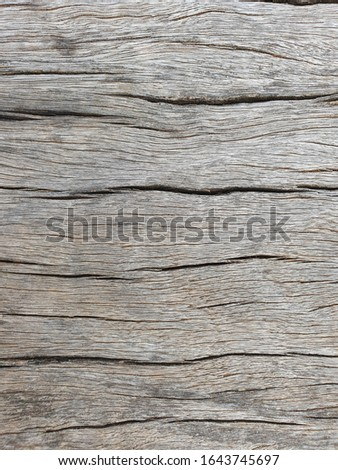 Old grunge brown wooden surfaces. The surface of the natural texture background. #1643745697