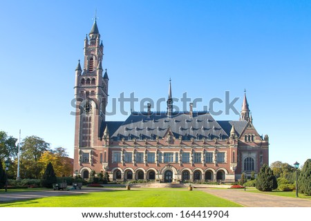 International Court of Justice Building in Netherlands #164419904