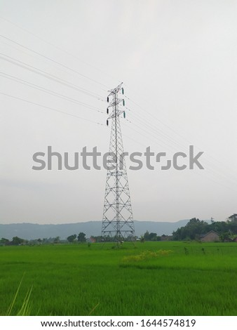 An air power line is a structure used in the transmission and distribution of electricity to deliver electricity to distant places #1644574819