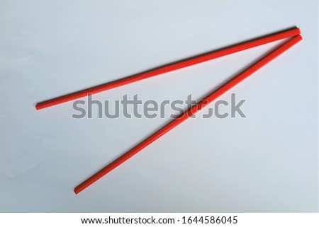 Chopsticks are sticks used in pairs as cutlery. Chopsticks are the traditional eating utensils of some countries including China, Japan, Korea, Taiwan, and Vietnam. #1644586045