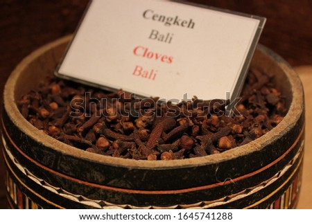 clove is the raw material for making cigarettes, there are several cloves in Indonesia, Bali cloves, Toli Toli cloves and cloves from Java (focus selection) #1645741288