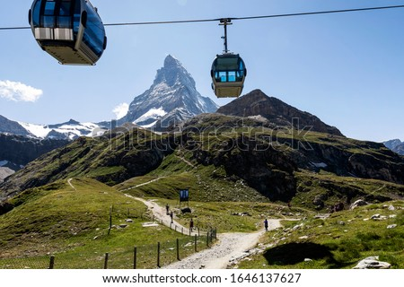 Matterhorn Cable Cars, transport system mountains #1646137627