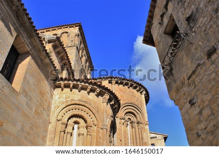 Colegiata de Santa Juliana de Santillana del Mar Cantabria,Spain photo