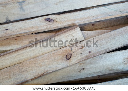 Preparing a wood to decorate a insider home. #1646383975