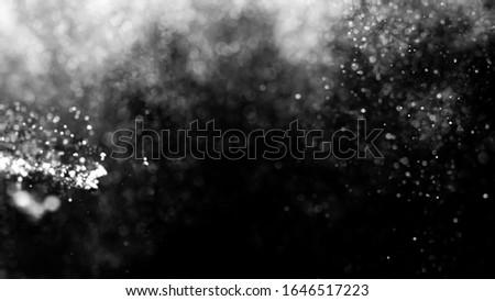 white Abstract bokeh defocus glitter  background #1646517223