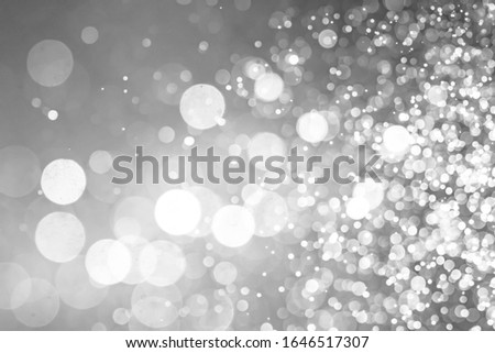 white Abstract bokeh defocus glitter  background #1646517307