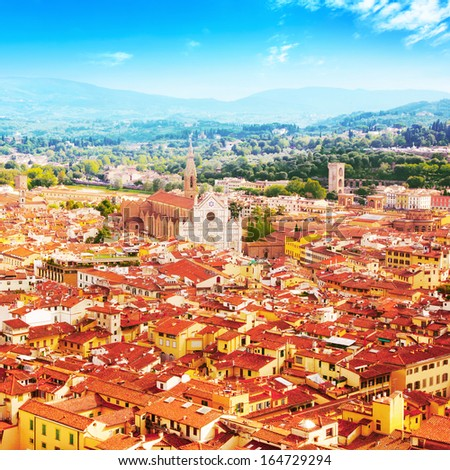 View of Florence,Tuscany, Italy. #164729294