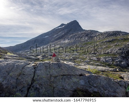 Heilhornet, Norway. View from the ascent to the top.  #1647796915