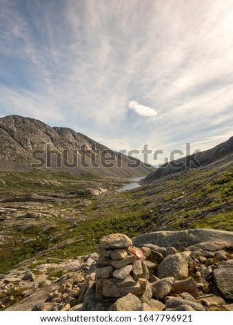 Heilhornet, Norway. View from the ascent to the top.  #1647796921