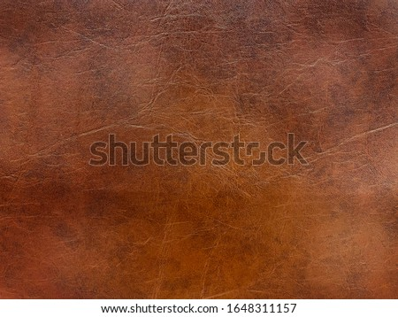 The vintage leather texture with antique surface. It's material for bags , shoes , jacket and others. Royalty-Free Stock Photo #1648311157