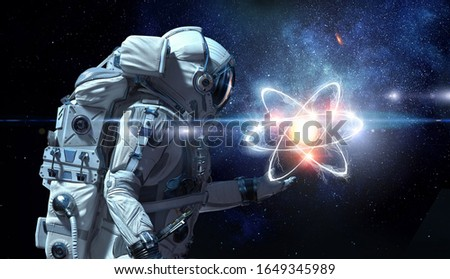 Astronomy as a science. Mixed media #1649345989