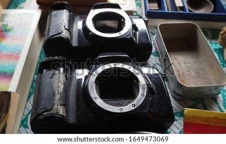 Two obsolete dslr camera budy #1649473069