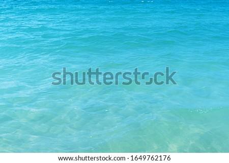 Surface Blue Sea or Ocean Sea background  #1649762176