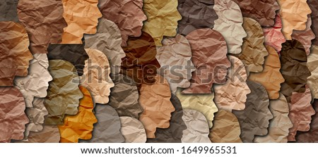 Black history month celebration of diversity and African culture pride as a multi cultural celebration. Royalty-Free Stock Photo #1649965531