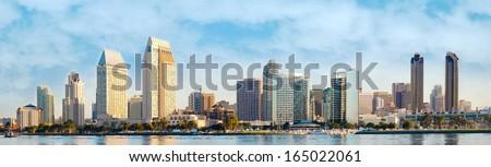 City of San Diego, Downtown Cityscape, San Diego California, USA