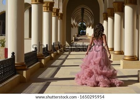 Luxury bride with diamond earrings in a wedding dress in a wedding dress #1650295954