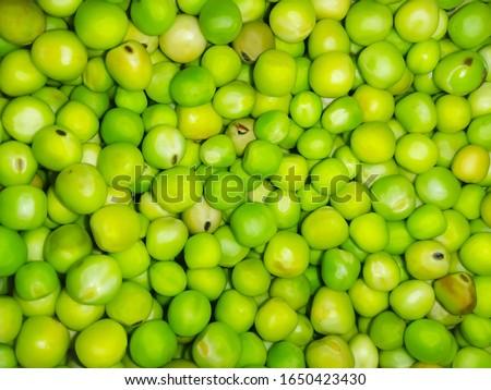 Green peas.blur vegetables background photo #1650423430