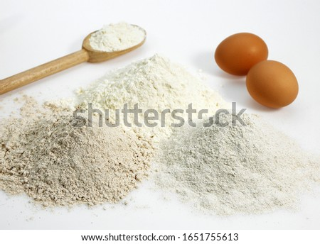 Wheat Flour and Eggs, Cake Ingredients   #1651755613