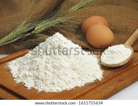 Wheat Flour and Eggs, Cake Ingredients   #1651755634
