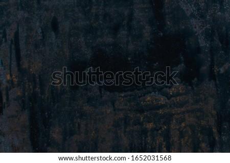 Metal Rust Background Metal Rust Texture. Beautiful unusual background. Rusted painted metal wall. Rusty old background with streaks of rust. Rust stains. #1652031568
