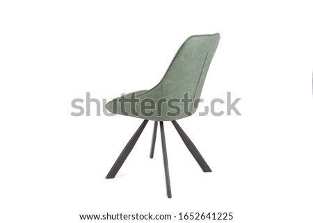 A chair or chairs on a white background in high resolution, diverse images of chairs. Compositions of chairs. Chairs on a white background in a light key #1652641225