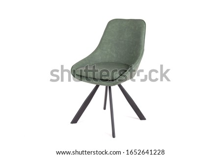 A chair or chairs on a white background in high resolution, diverse images of chairs. Compositions of chairs. Chairs on a white background in a light key #1652641228