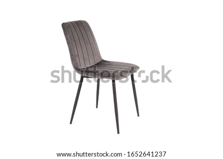 A chair or chairs on a white background in high resolution, diverse images of chairs. Compositions of chairs. Chairs on a white background in a light key #1652641237