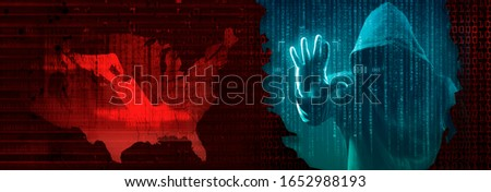 election interference by foreign hackers concept #1652988193