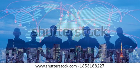 Global business concept. Group of businessperson. Diversity. Human resources. #1653188227