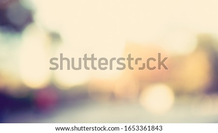 Sunny abstract green nature background, Blur park with bokeh light , nature, garden, spring and summer season #1653361843