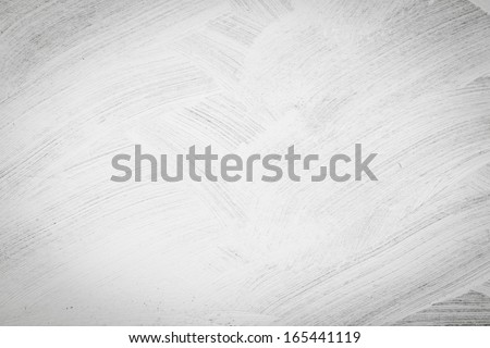 Brushed white wall texture - dirty background Royalty-Free Stock Photo #165441119