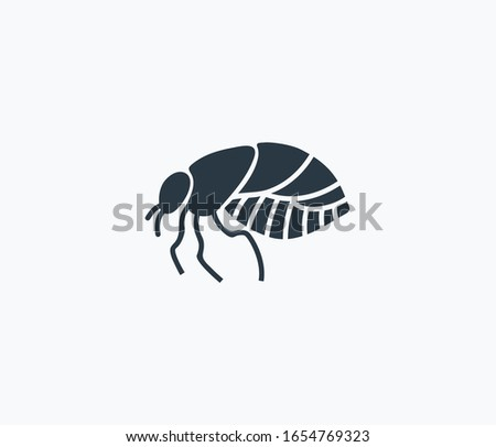 Louse icon isolated on clean background. Louse icon concept drawing icon in modern style. Vector illustration for your web mobile logo app UI design.