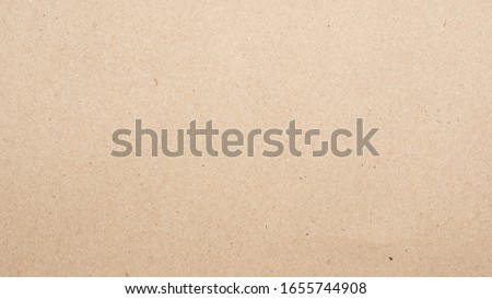 Abstract brown recycled paper texture background. Old Kraft paper box craft pattern. top view. Royalty-Free Stock Photo #1655744908