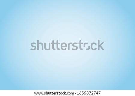 Clean sky blue gradient background with text space. Editable blurred white blue vector illustration for the backdrop of the banner, poster, business presentation, book cover, advertisement or website. Royalty-Free Stock Photo #1655872747