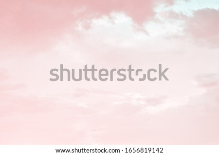 Sky and clouds for background. - Image