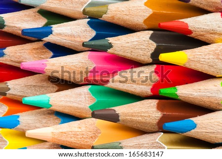Macro background of the pencil as an element for design. High resolution.