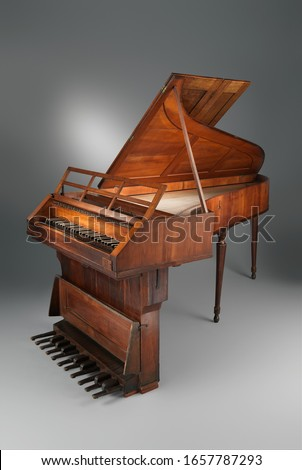 Austrian Grand Piano, Chordophone-Zither-struck-piano, Musical Instruments #1657787293